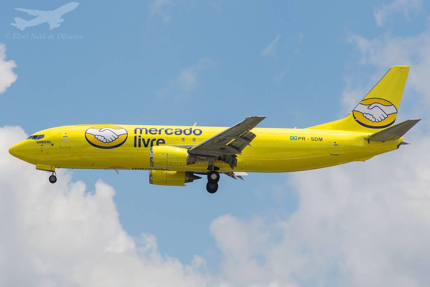 Sideral Boeing 737 Mercado Livre