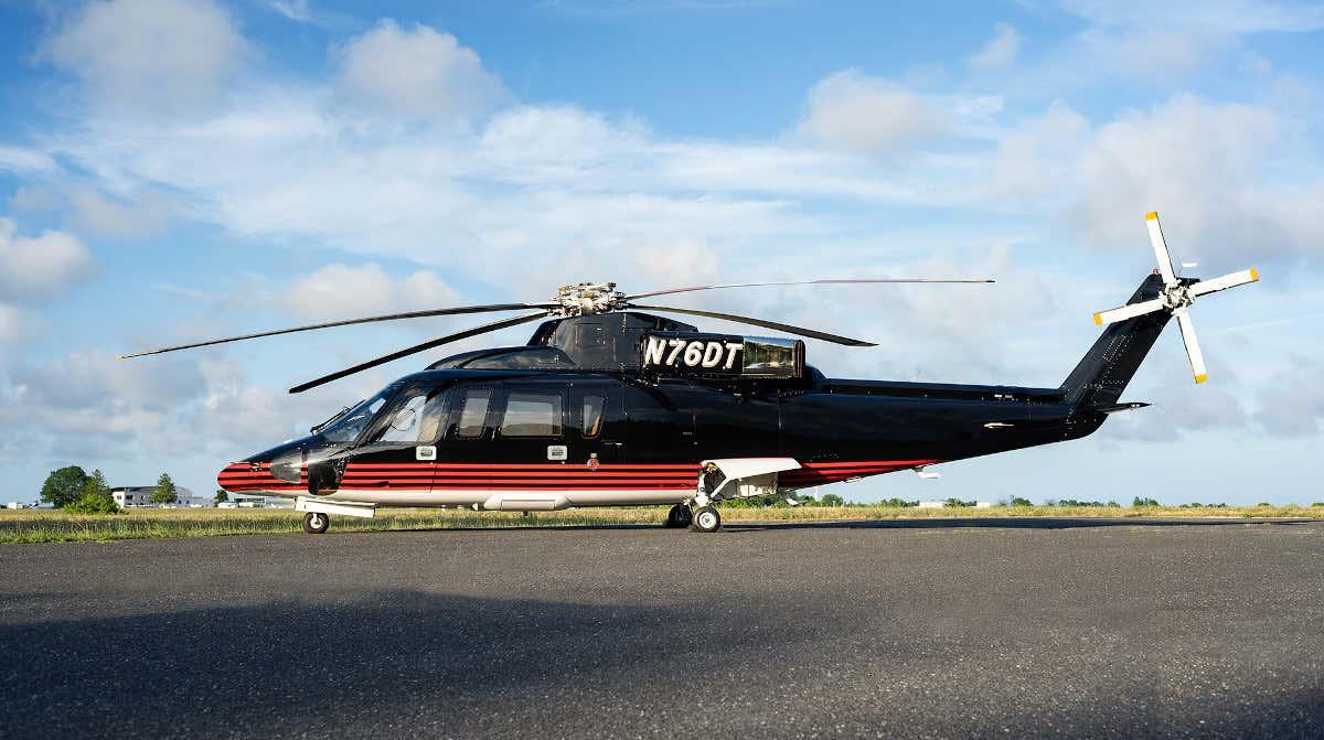 Helicóptero do Donald Trump