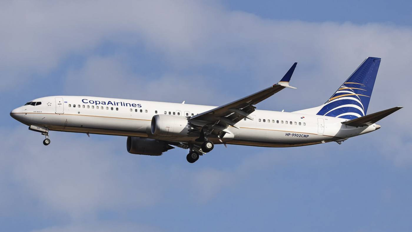 Copa Airlines Boeing 737 MAX 9 Panamá
