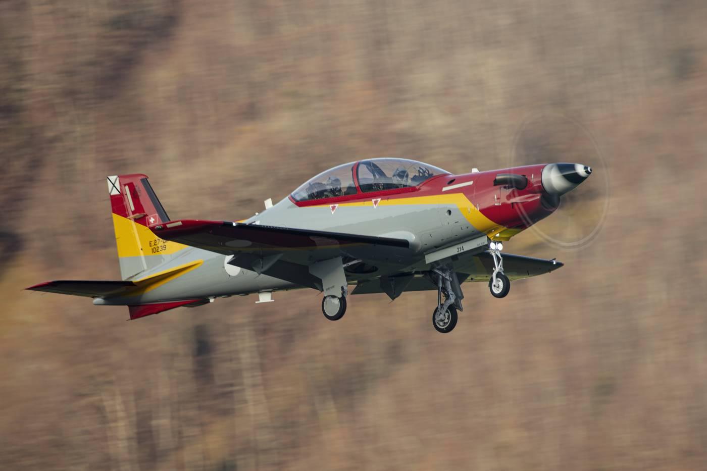 Pilatus PC-21 Força Aérea da Espanha
