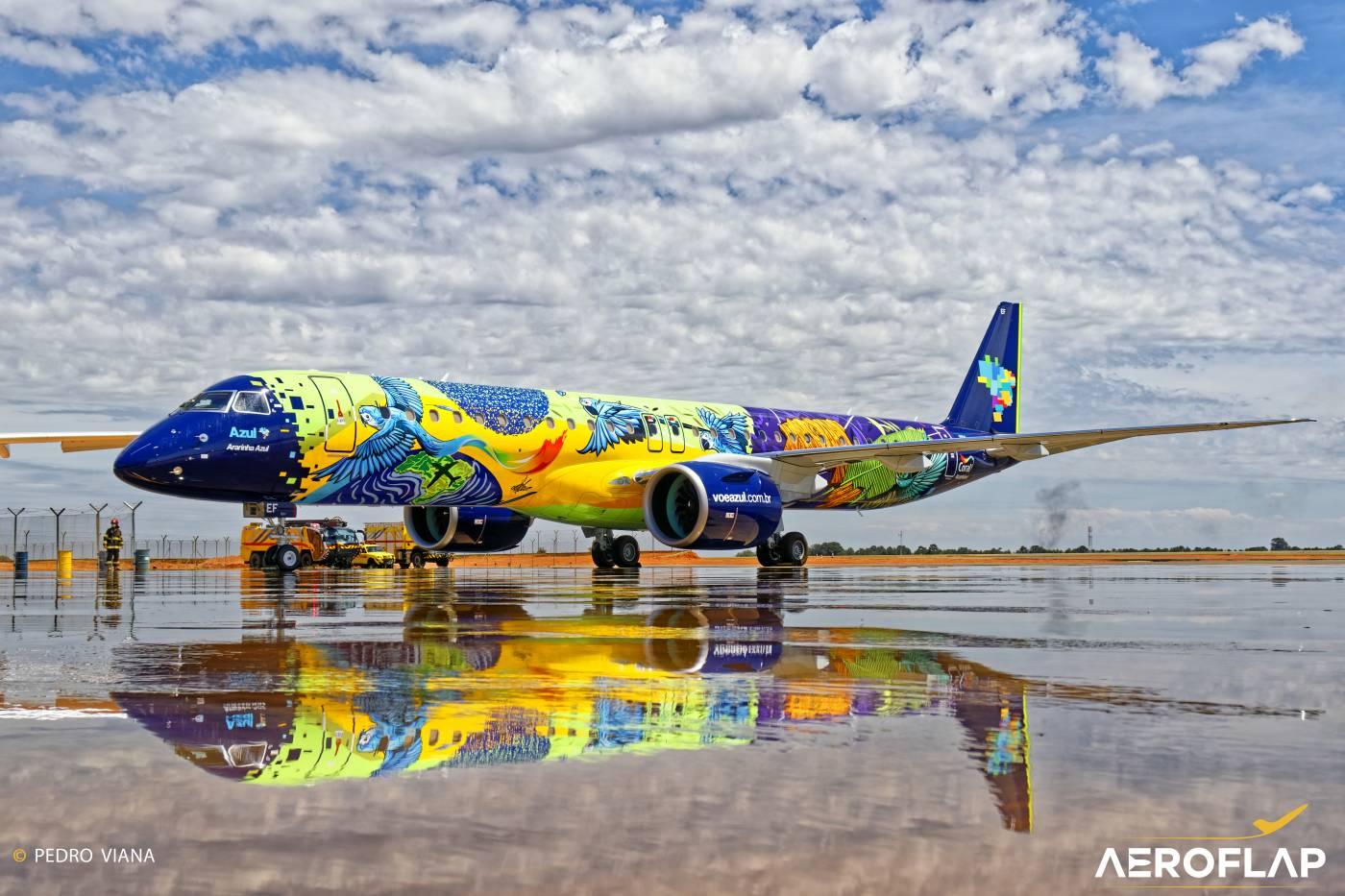 Embraer Azul E195-E2 Ararinha Azul