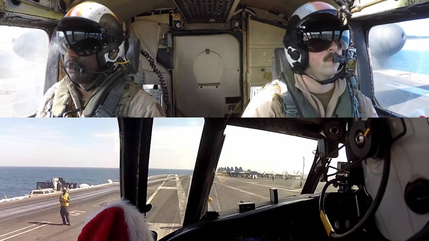 Greyhound C-2A Marinha porta-aviões