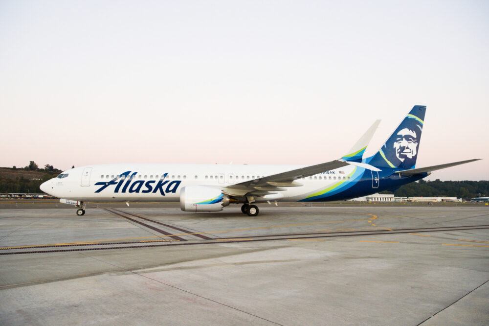 Alaska Airlines Boeing 737 MAX