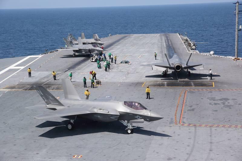 F-35 embarcado