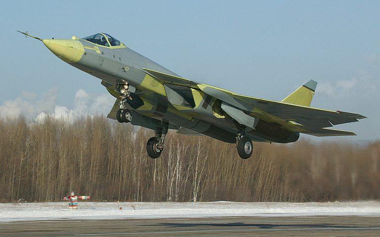Su-57 t-50