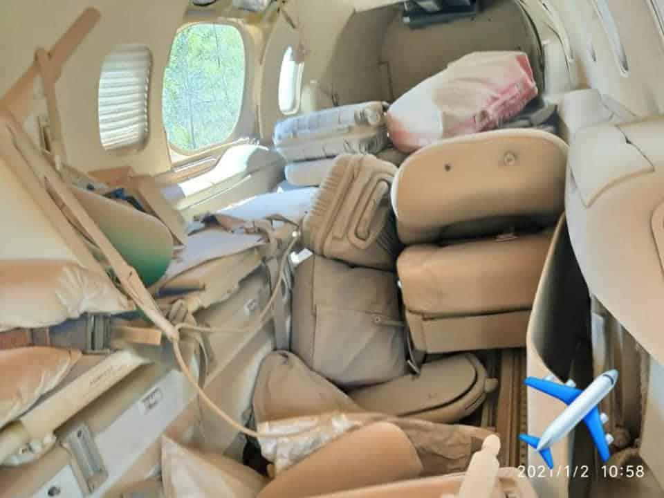 Learjet da Brasil Vida sai da pista durante pouso em Diamantina | Aeroflap