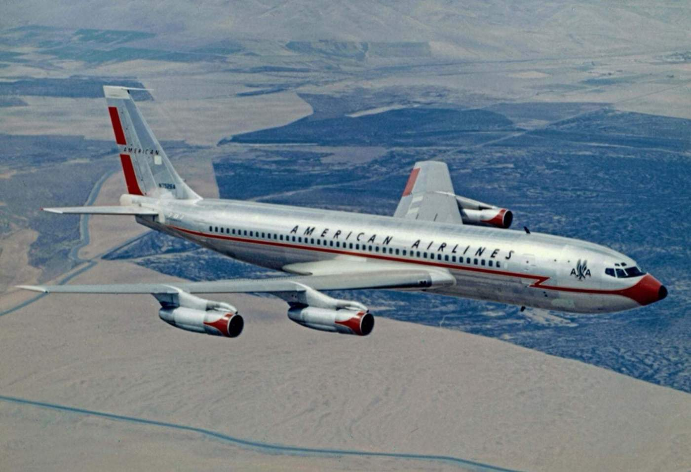 Boeing 707 American Airlines