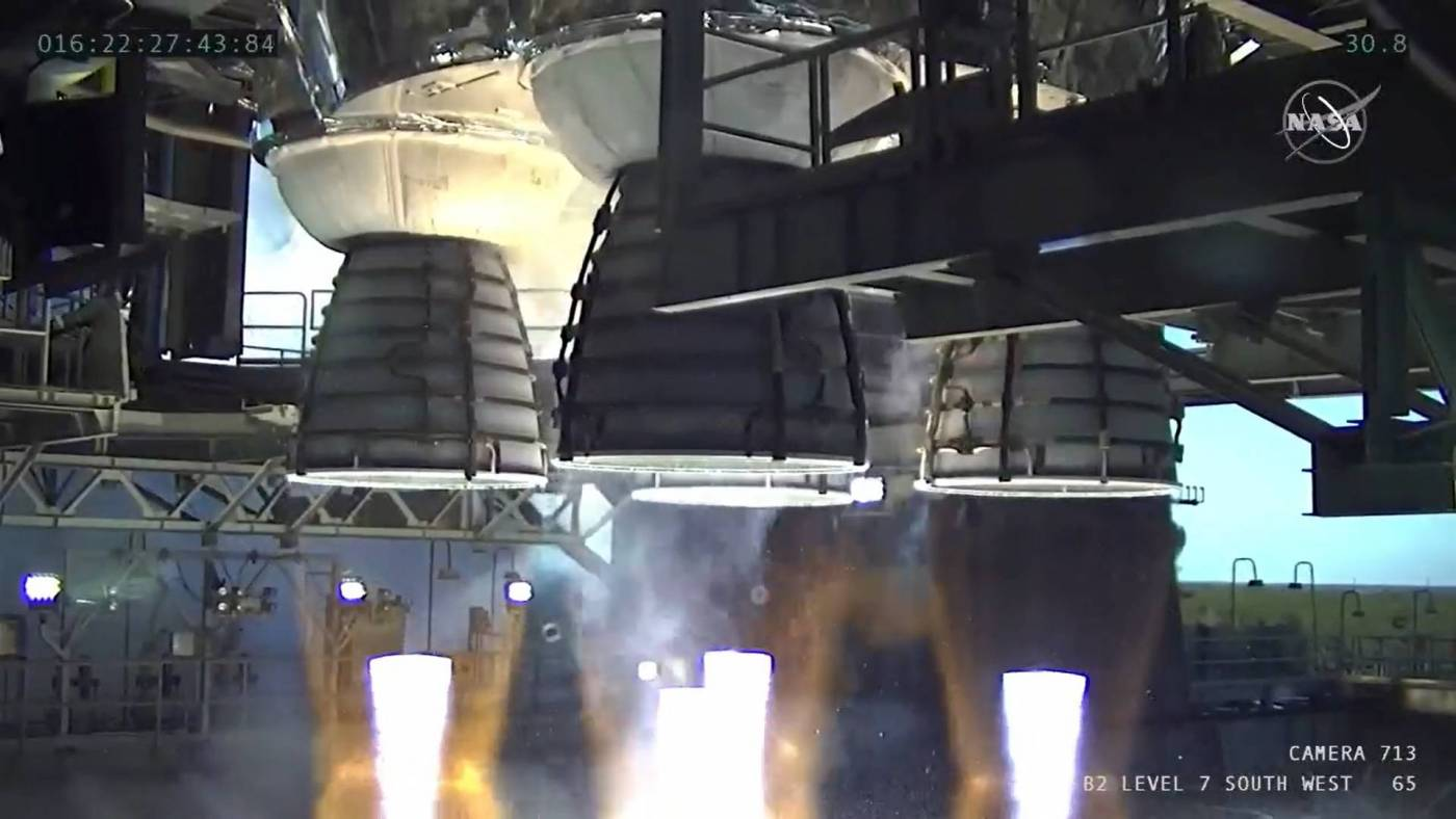 NASA SLS Foguete