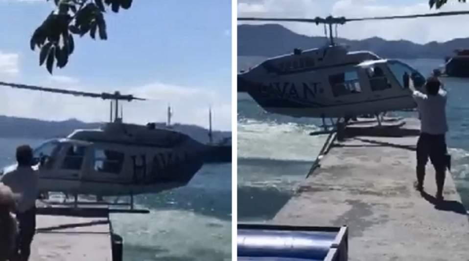 Helicóptero Havan Santa Catarina