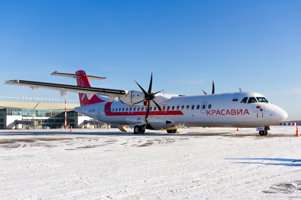 ATR 72-500 da KrasAvia