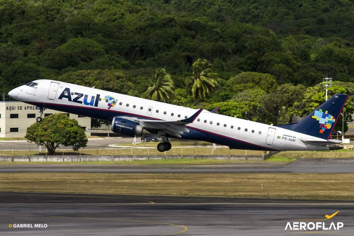 Azul Linhas Aéreas Embraer 195 Recife