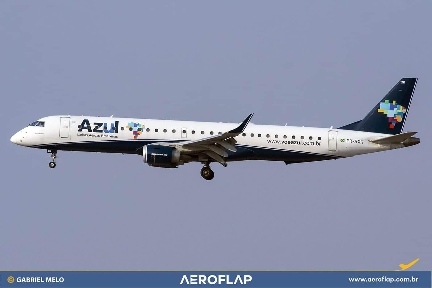 Azul Linhas Aéreas Embraer 195 Flamengo Aeroporto