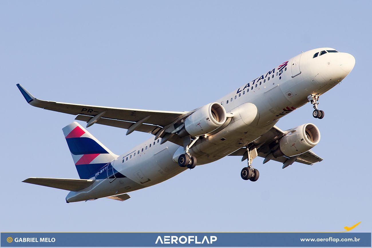 LATAM Brasil Airbus A320