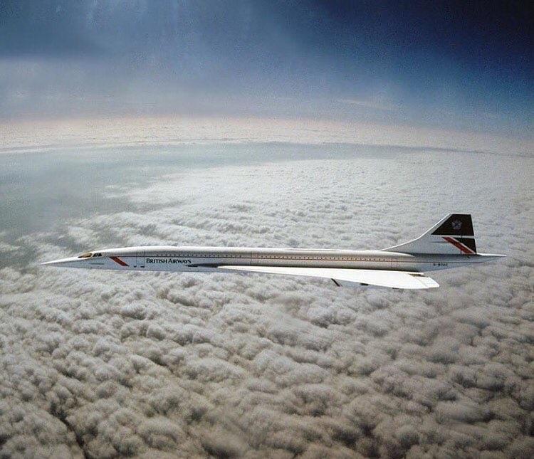 British Airways Concorde Londres New York