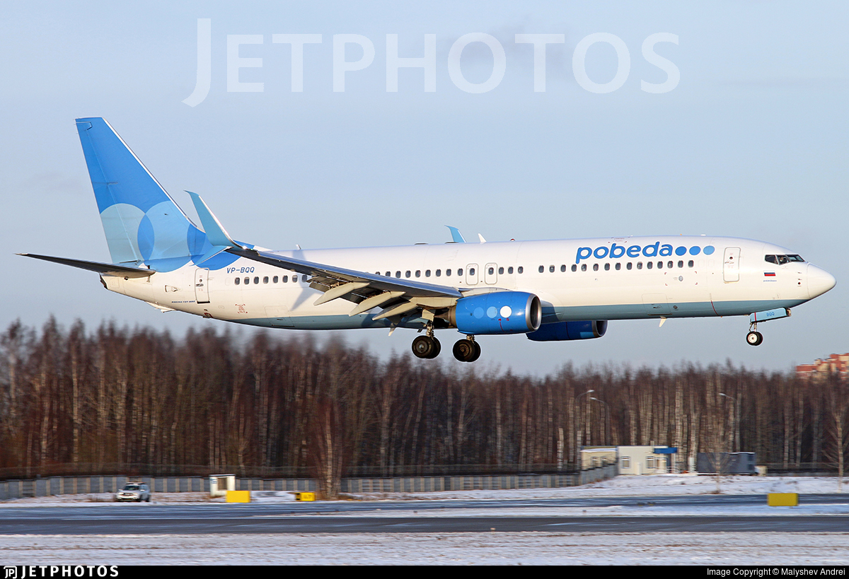Boeing 737 Pobeda Rússia