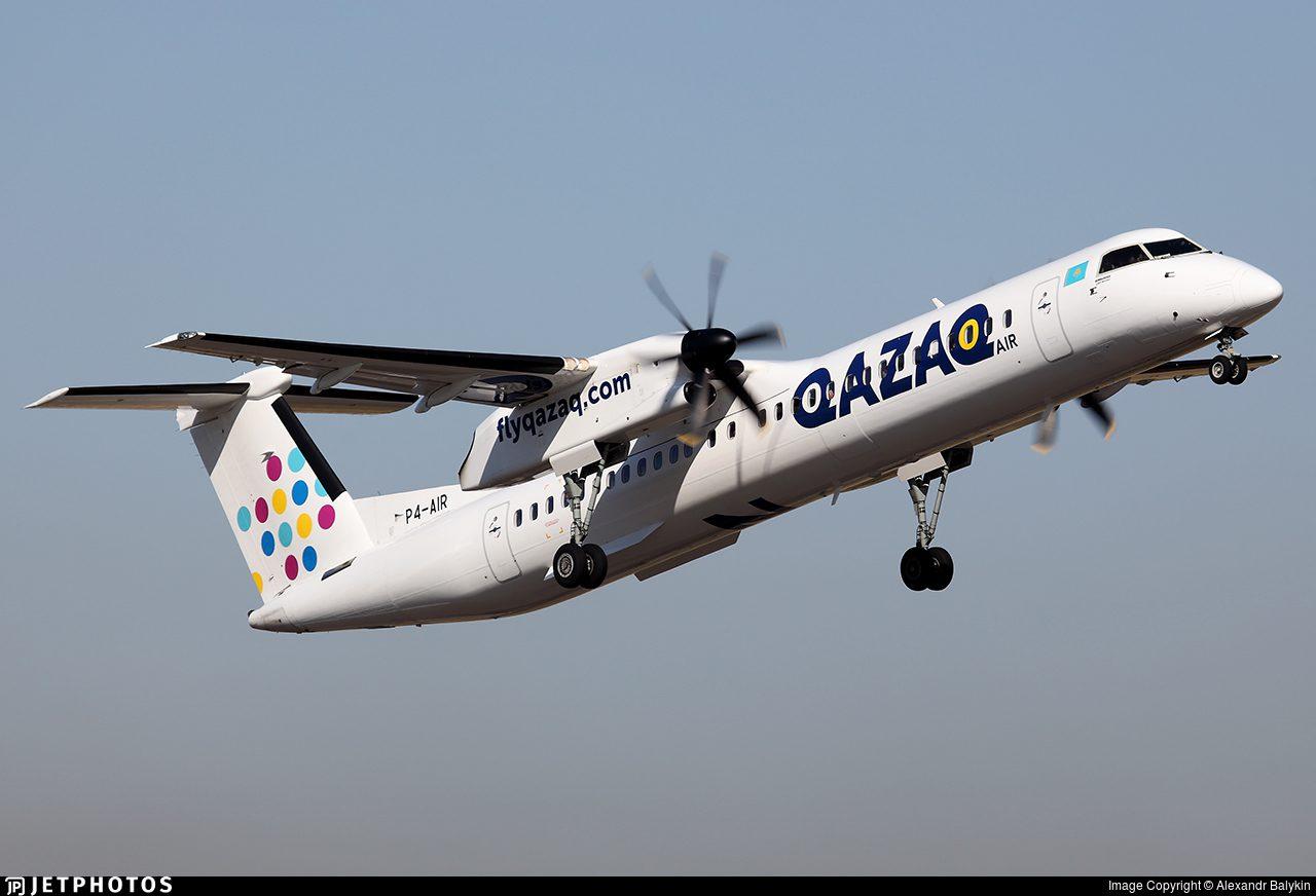 Dash 8 Qazaq Air Bombardier