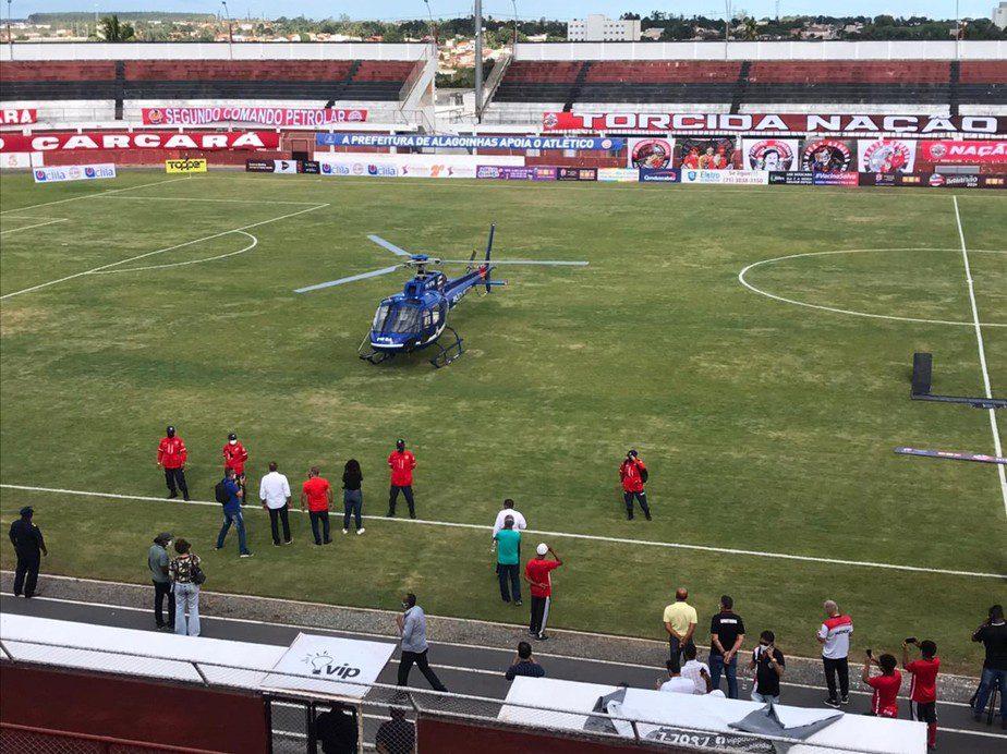 Helicóptero Policia Militar Bahia
