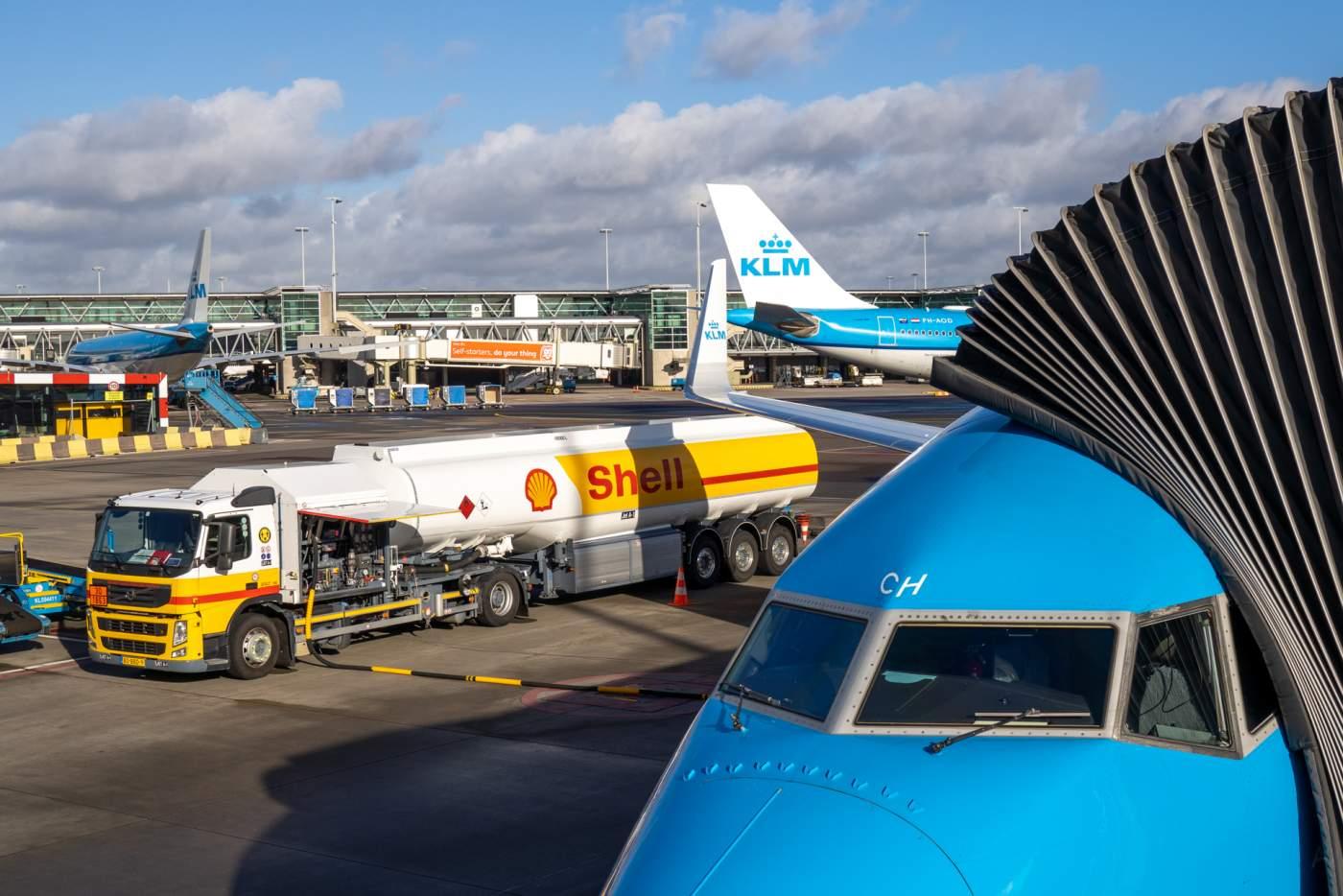 KLM Shell Querosene