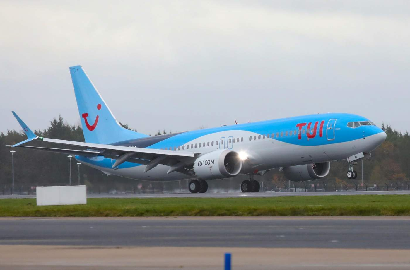 TUI Airways Boeing 737 MAX Europa