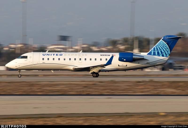Bombardier CRJ-200 United
