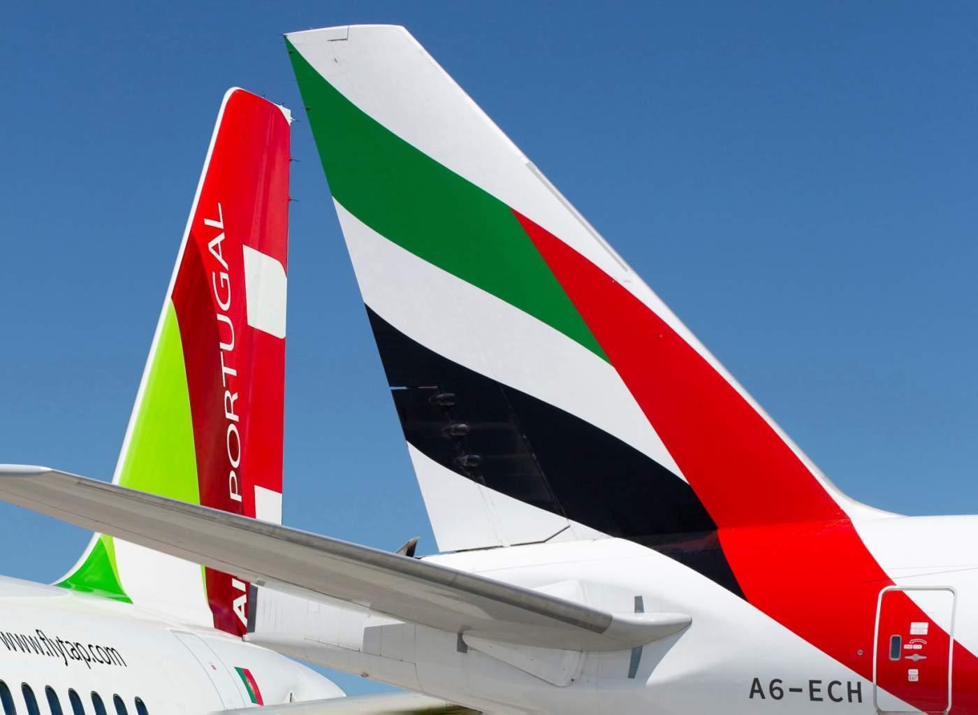 TAP Emirates Parceria