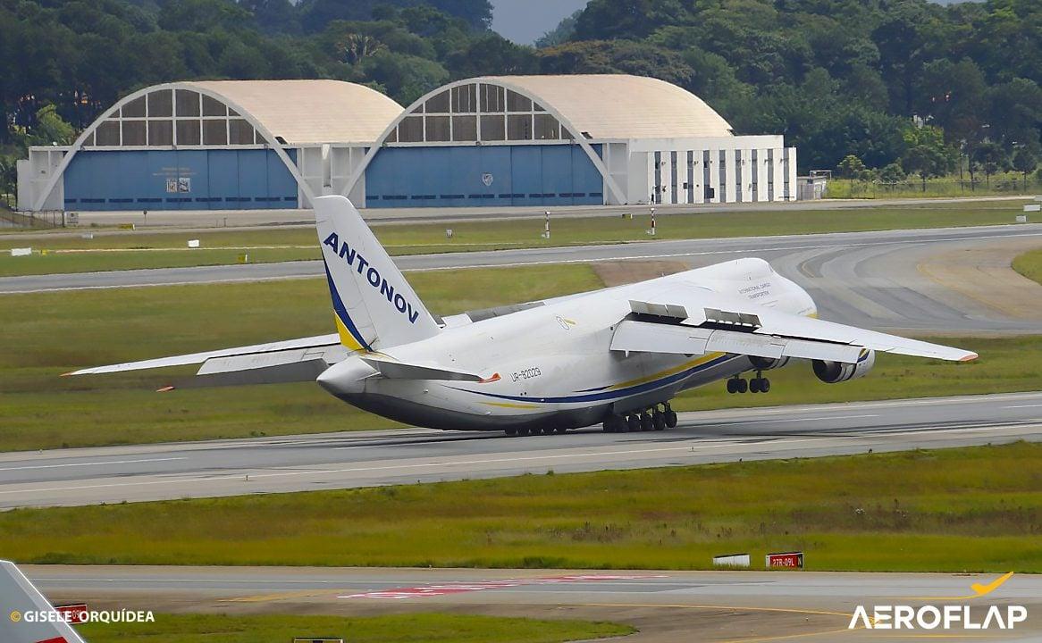 Antonov An-124 Aeroporto de Guarulhos