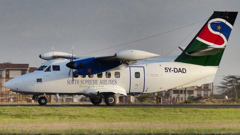 Let-410 South Sudan Supreme Airlines Sudão