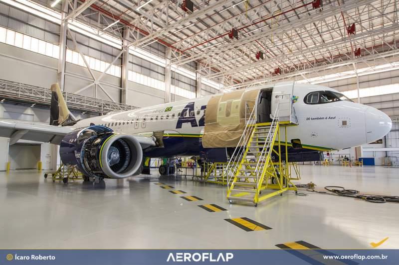 Azul A320neo SHARP