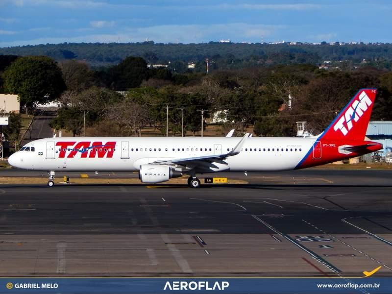 Airbus A321 TAM LATAM