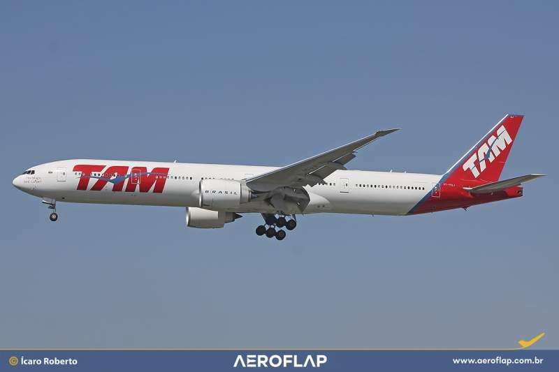 Boeing 777 TAM LATAM