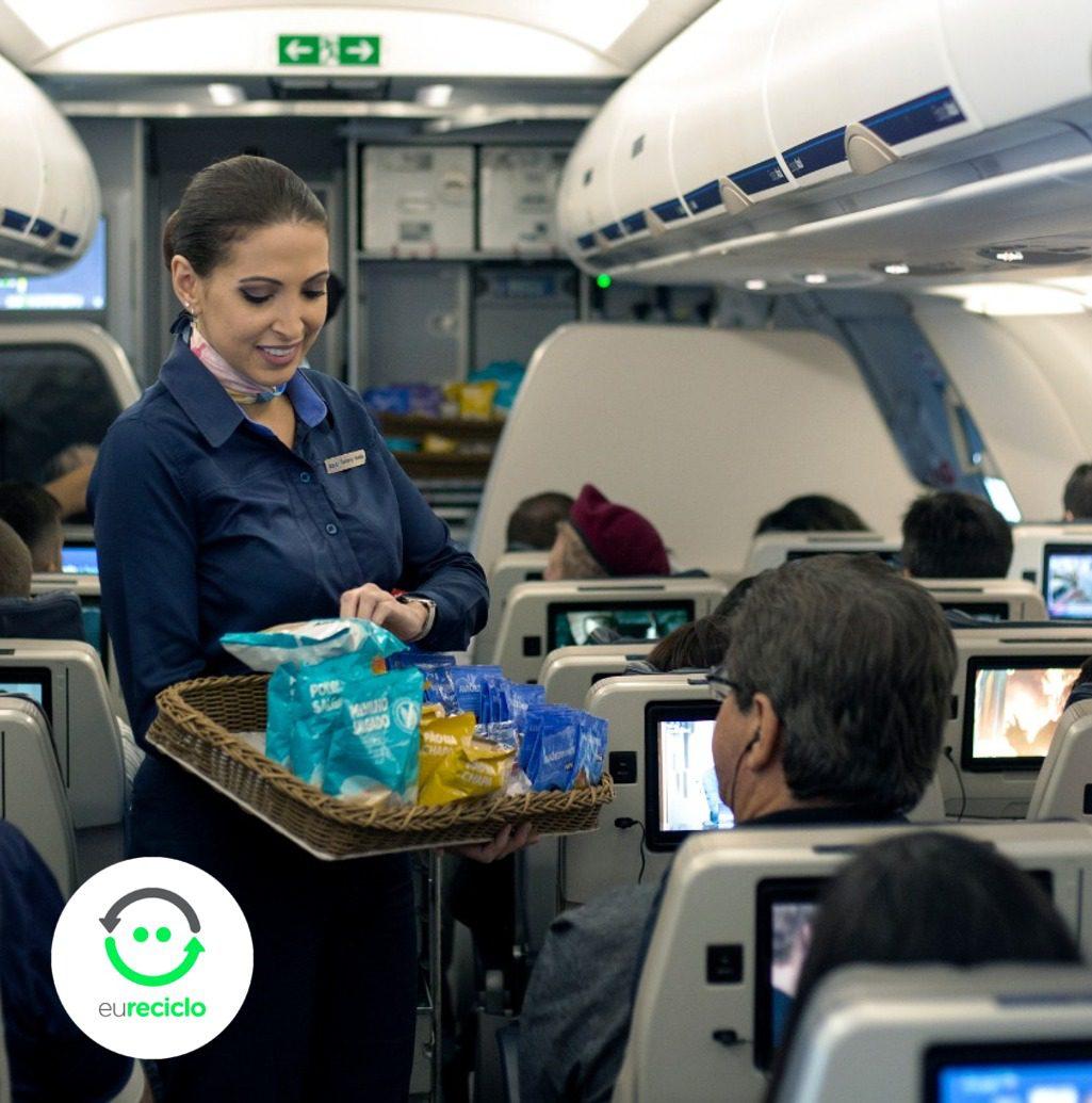Azul Linhas Aéreas Reciclagem Snacks