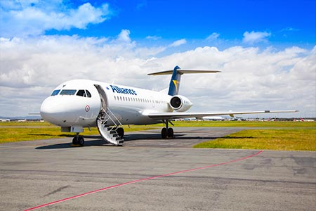Alliance Airlines Fokker 70 Austrália