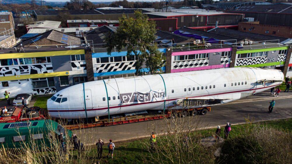 Boeing 727 Reino Unido Palmer