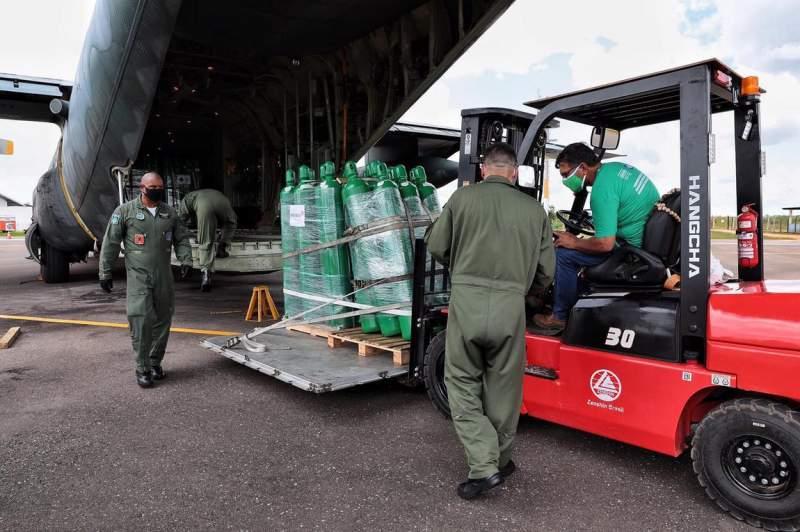 Força Aérea Brasileira Oxigênio