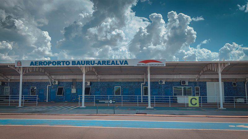 Aeroporto Infracea Bauru São Paulo