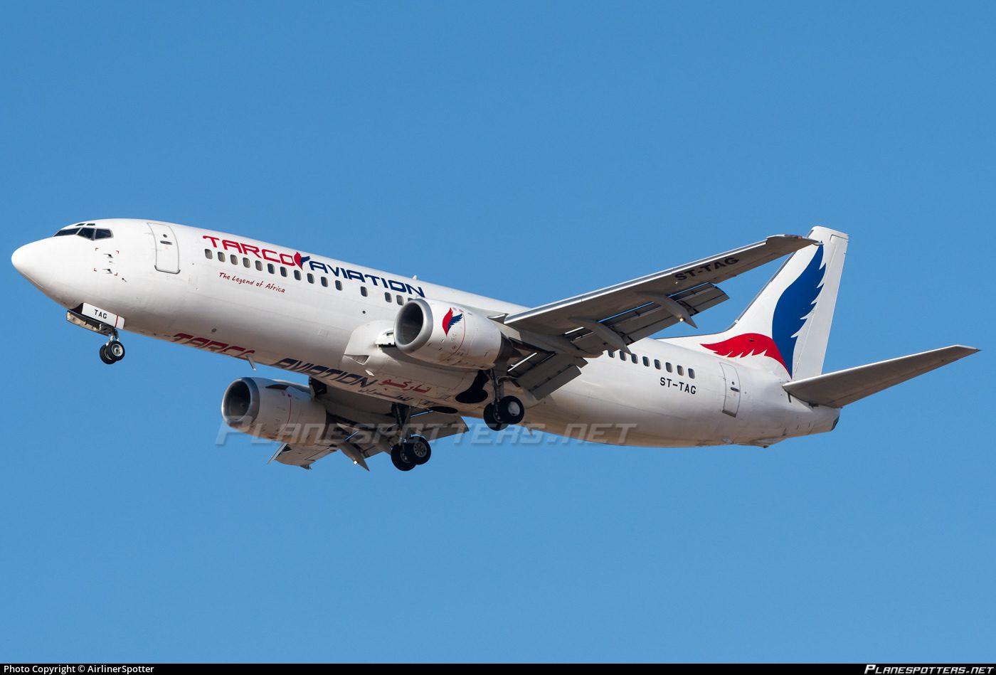 Tarco Airlines Sudão Boeing 737 Gato