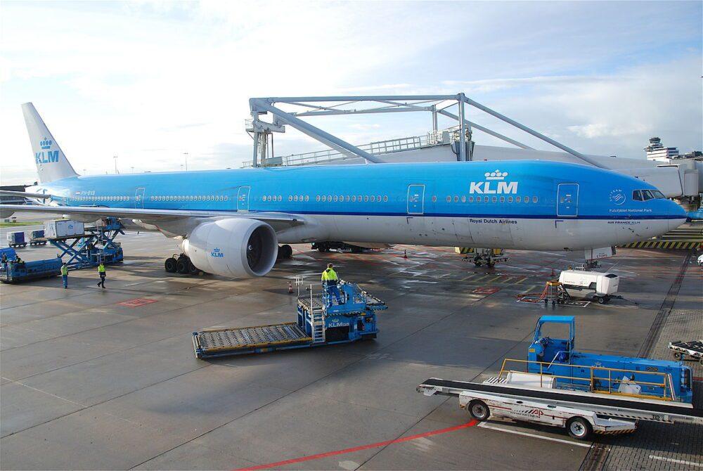 Boeing 777 KLM Amsterdã