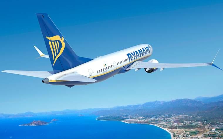 Boeing 737 MAX 200 da Ryanair