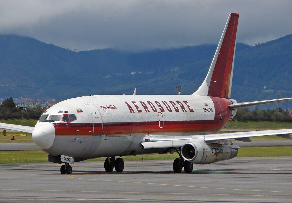 Boeing 737-200 Aerosucre