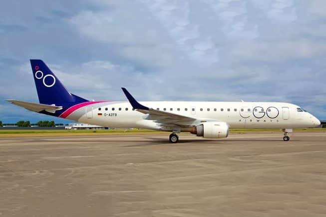 Ego Airways Embraer E190