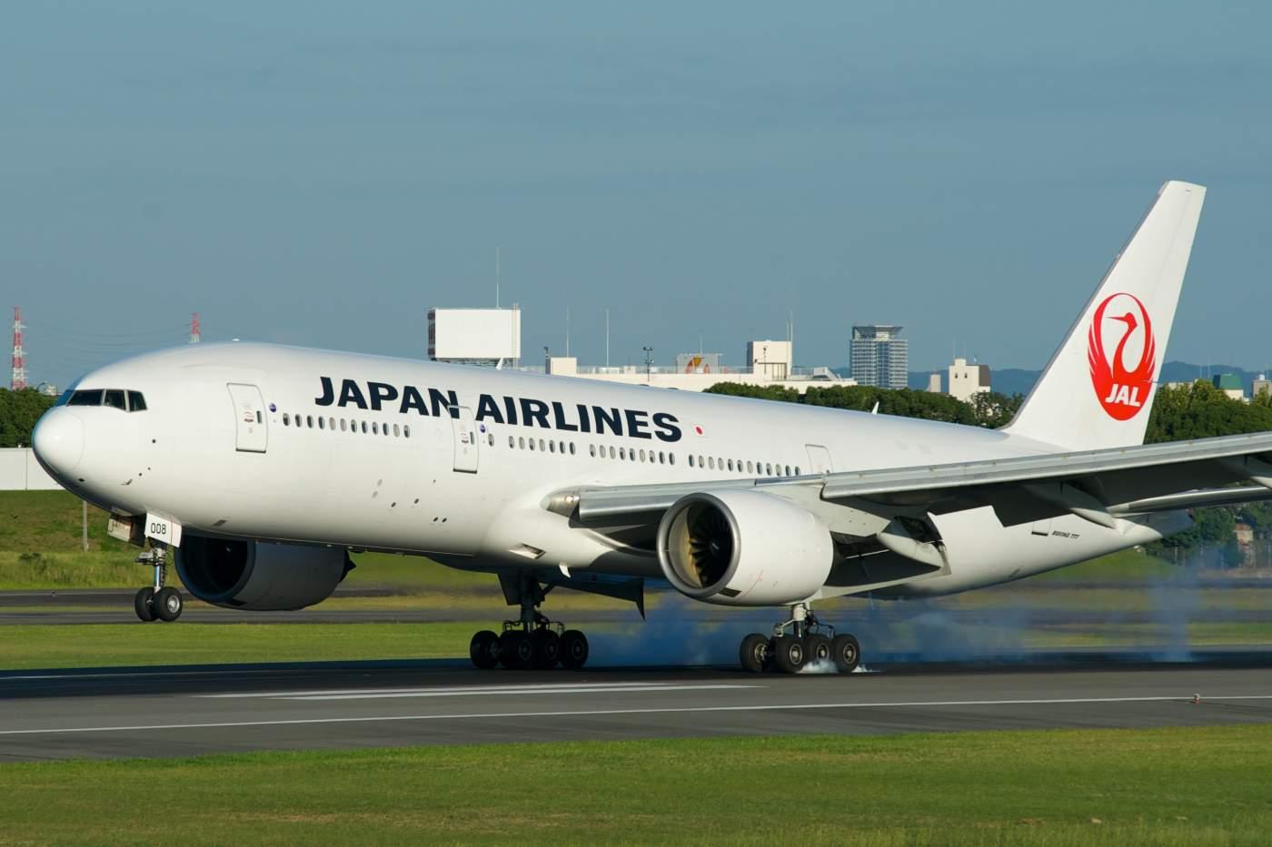 Japan Airlines Boeing 777 Pratt & Whitney