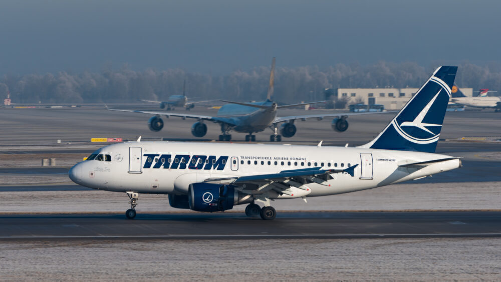 Airbus A318 TAROM