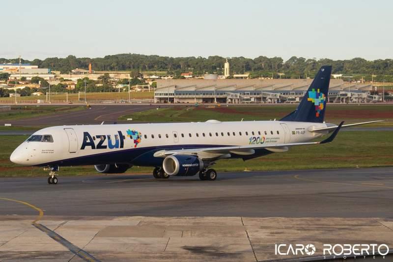 Embraer 195 Azul Linhas Aéreas PR-AUP