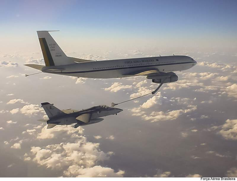 KC-137 FAB Boeing 707 Força Aérea Brasileira