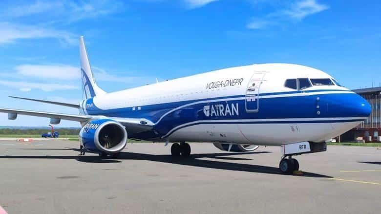 GECAS Boeing 737-800BCF Volga-Dnepr