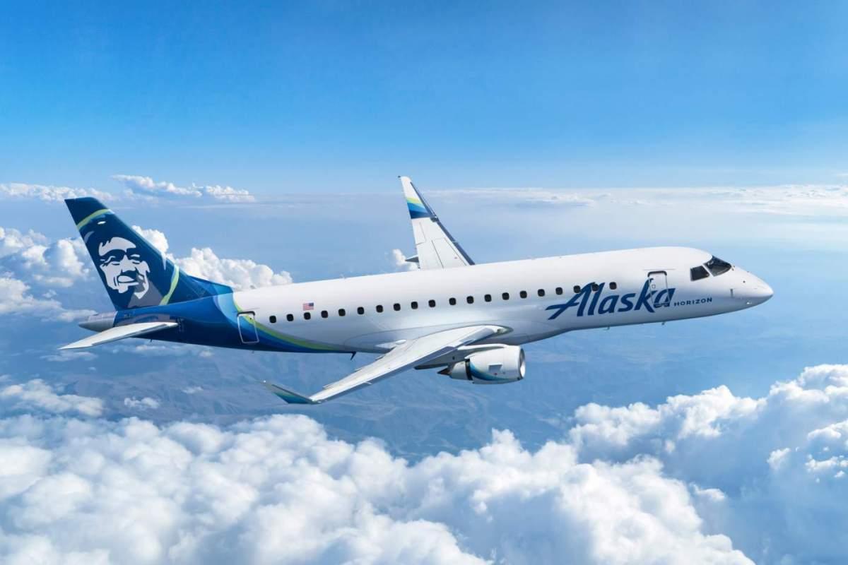 Alaska Airlines Embraer E175