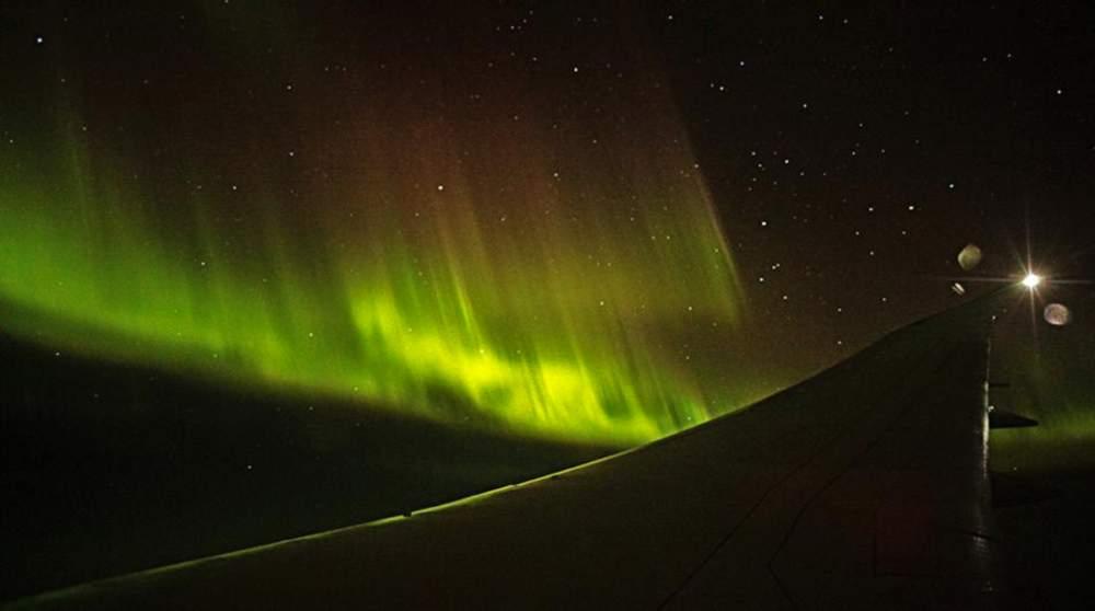 Qantas Aurora Boreal Boeing 787