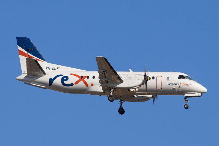Saab 340 Rex Austrália