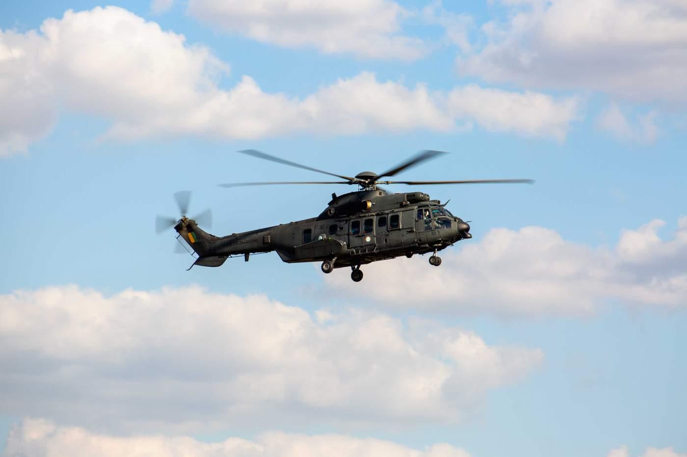 Helicóptero Força Aérea Brasileira Exercito