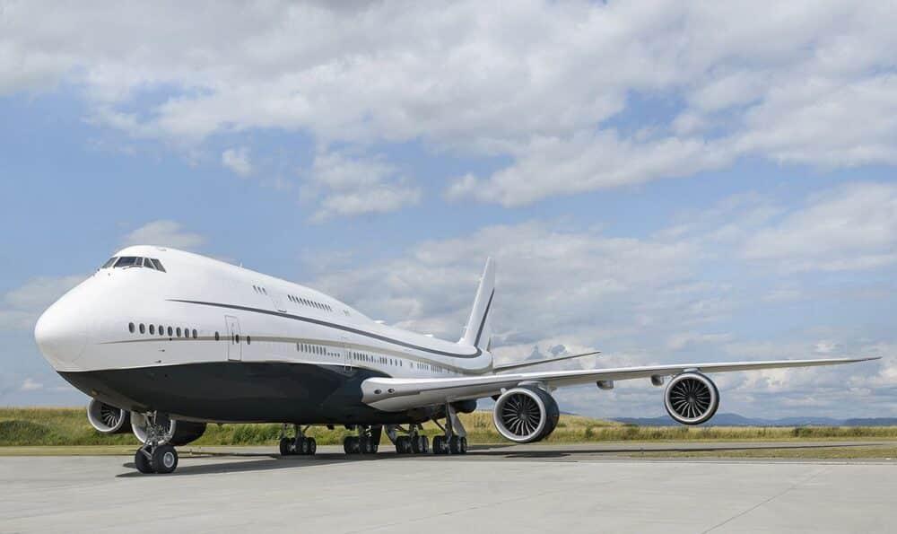 Boeing 747 BBJ Alberto Pinto